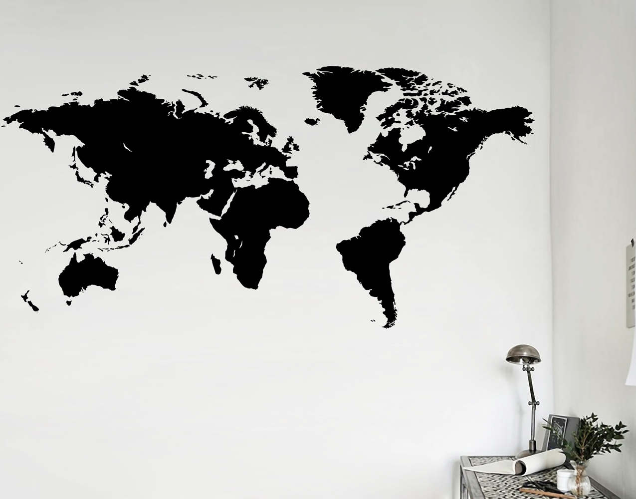 Recent World Map – Your Decal Shop (View 8 of 15)
