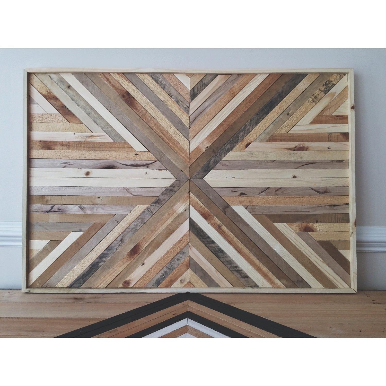 Reclaimed Wood Wall Art – Culturehoop In Well Known Reclaimed Wood Wall Art (View 9 of 15)