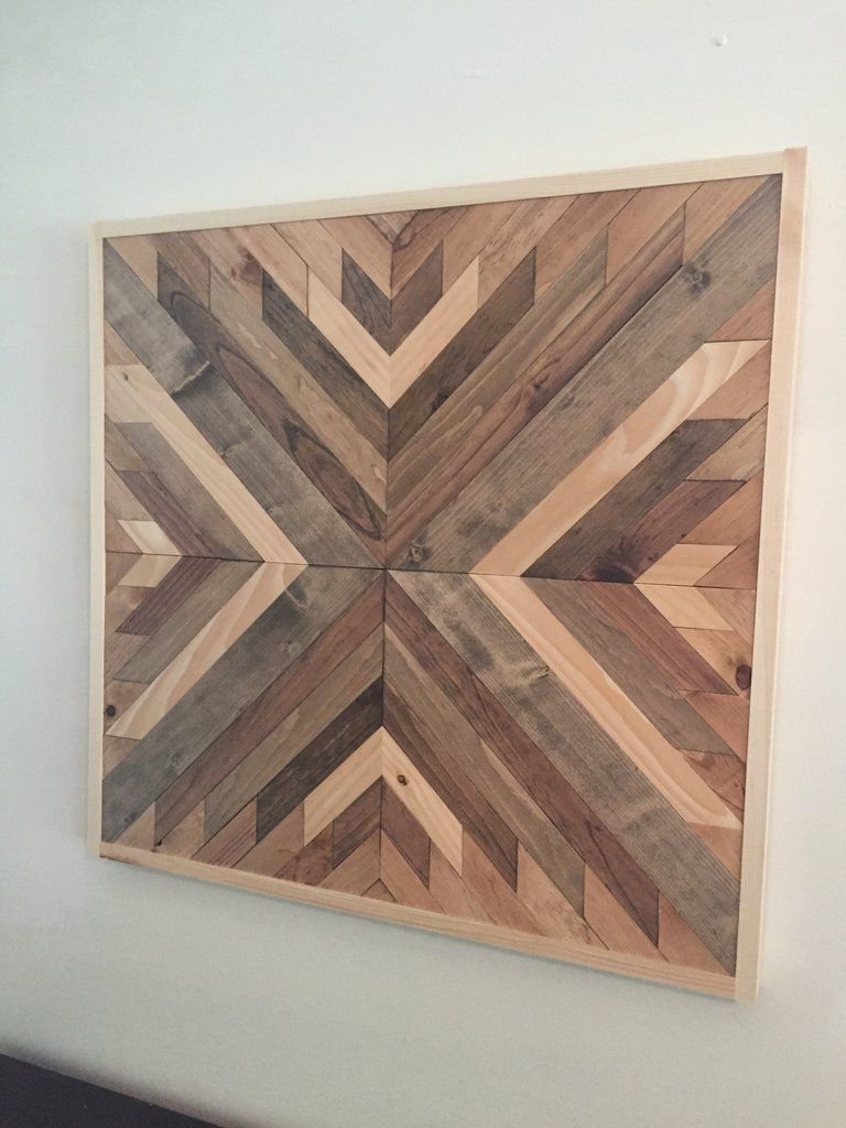 Reclaimed Wood Wall Art, Wood Wall Art And (View 15 of 15)