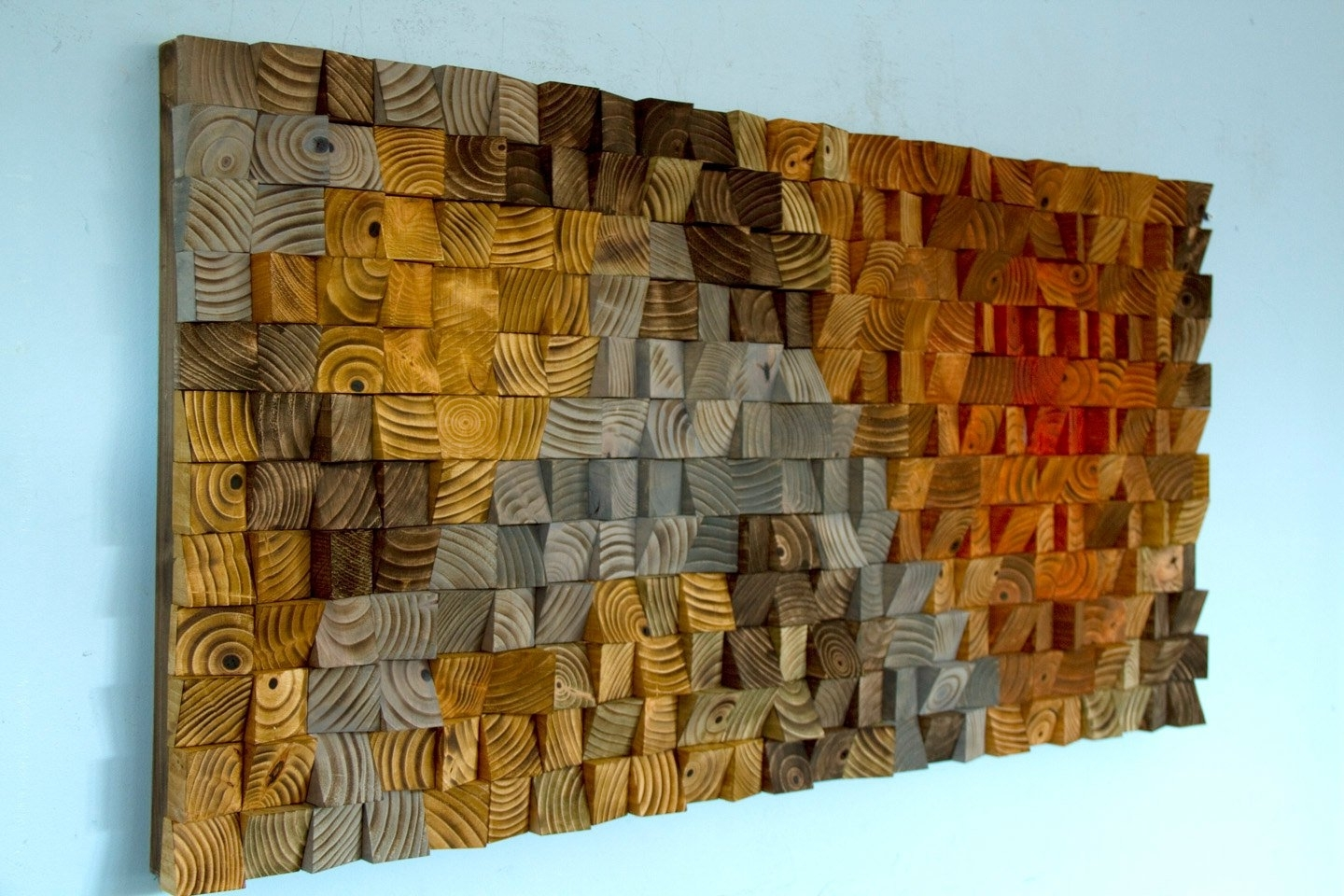 Reclaimed Wood Wall Art Wood Wall Art Sculpture, Wood Art, Wood Wall Within Well Known Wooden Wall Art (View 2 of 15)