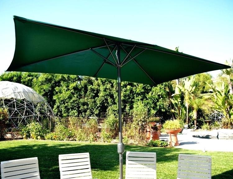 Rectangular Sunbrella Patio Umbrellas For Most Up To Date Rectangular Patio Umbrella Sunbrella Image Of – Annabelles (View 12 of 15)
