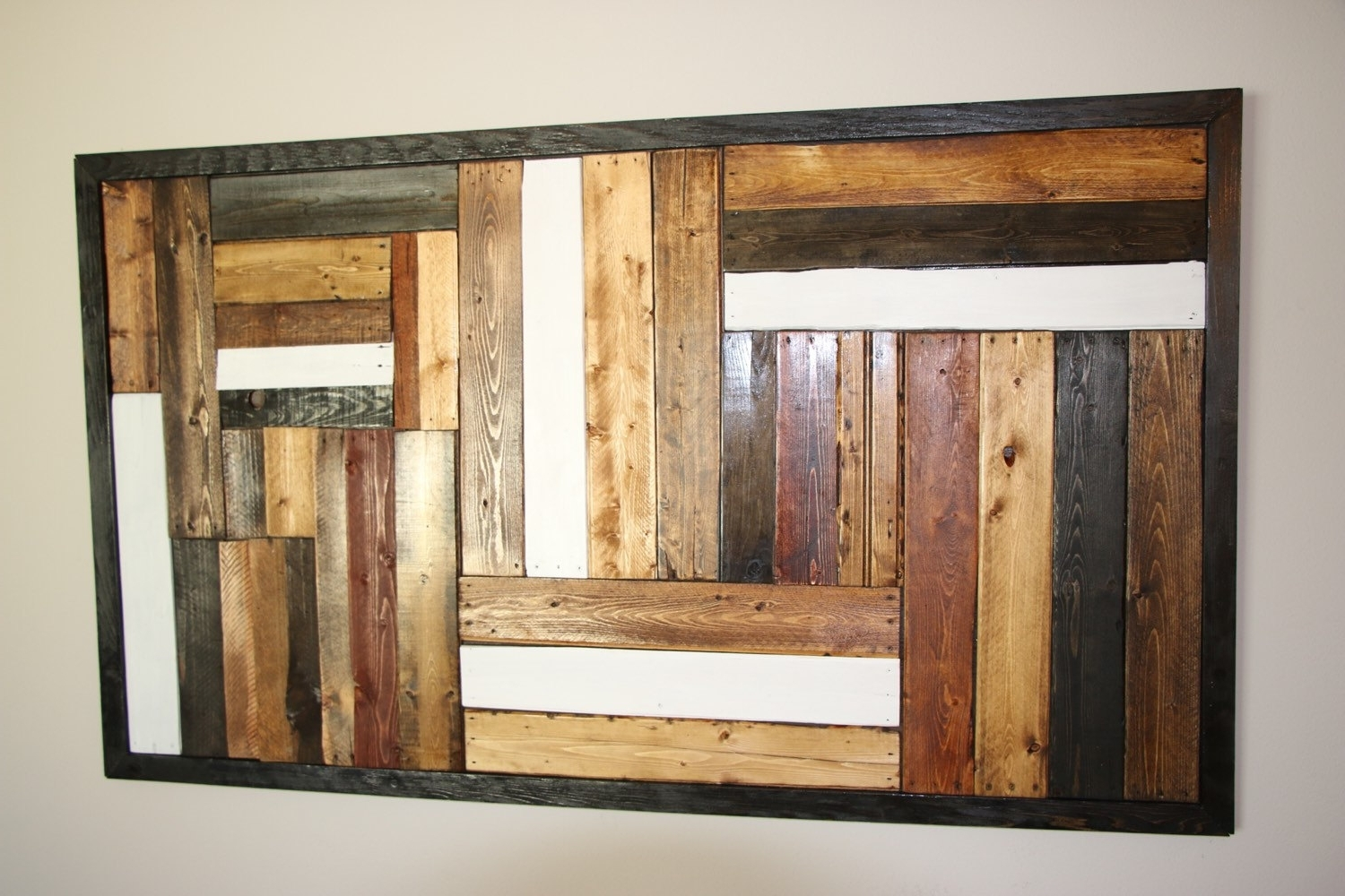 Recycled Pallet Wall Art (View 2 of 15)
