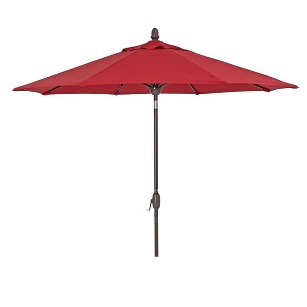 Red Sunbrella Patio Umbrellas In Well Known Shop Sorara Sunbrella Patio Umbrella 9' Outdoor Market Table (View 7 of 15)