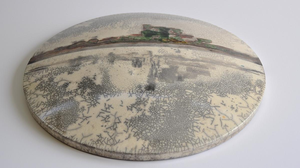 Reflections – Raku Ceramic Wall Art With Well Liked Ceramic Wall Art (View 14 of 15)