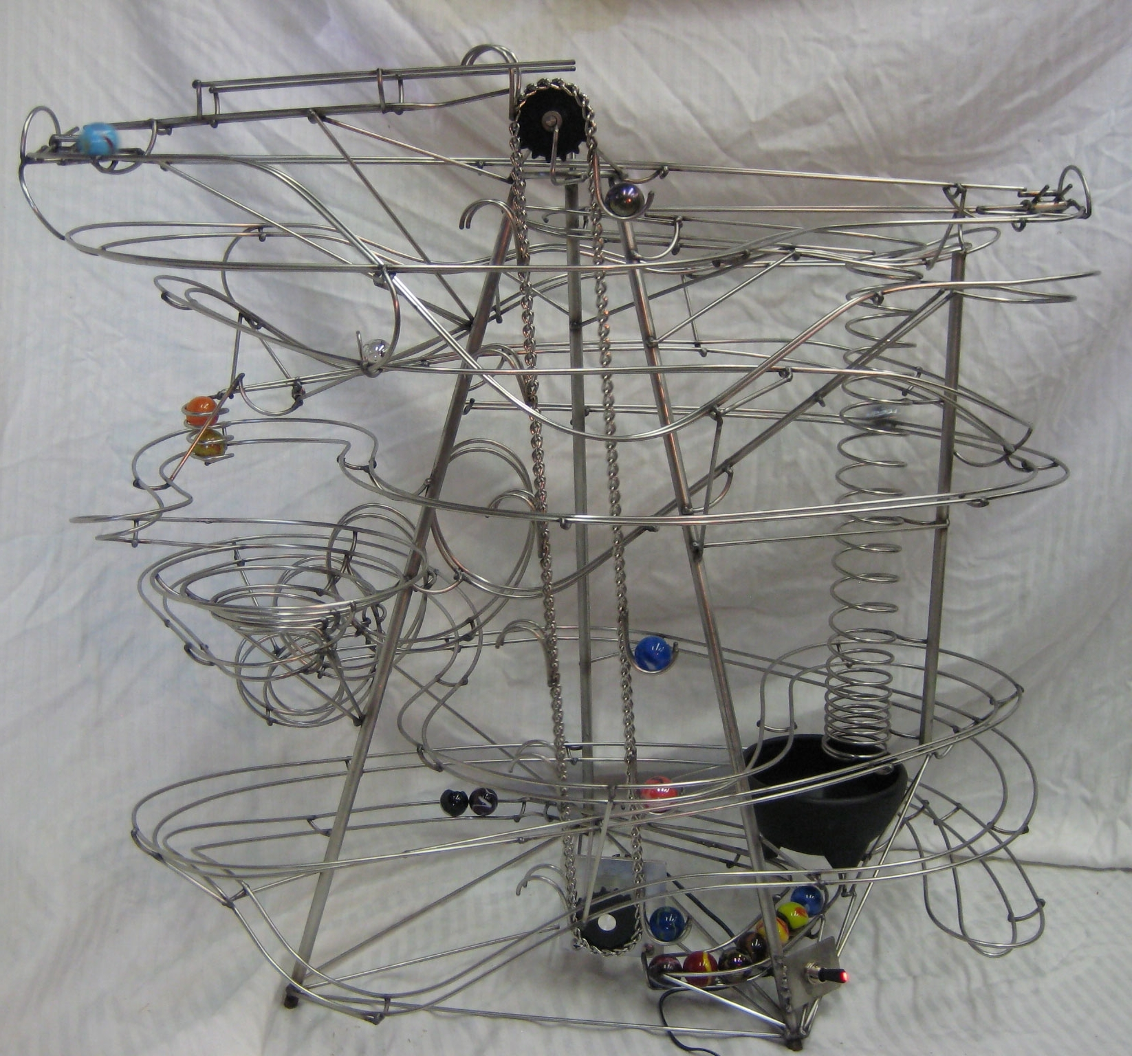 Rollingballsculpture – Captures The Intended For Kinetic Wall Art (View 8 of 15)