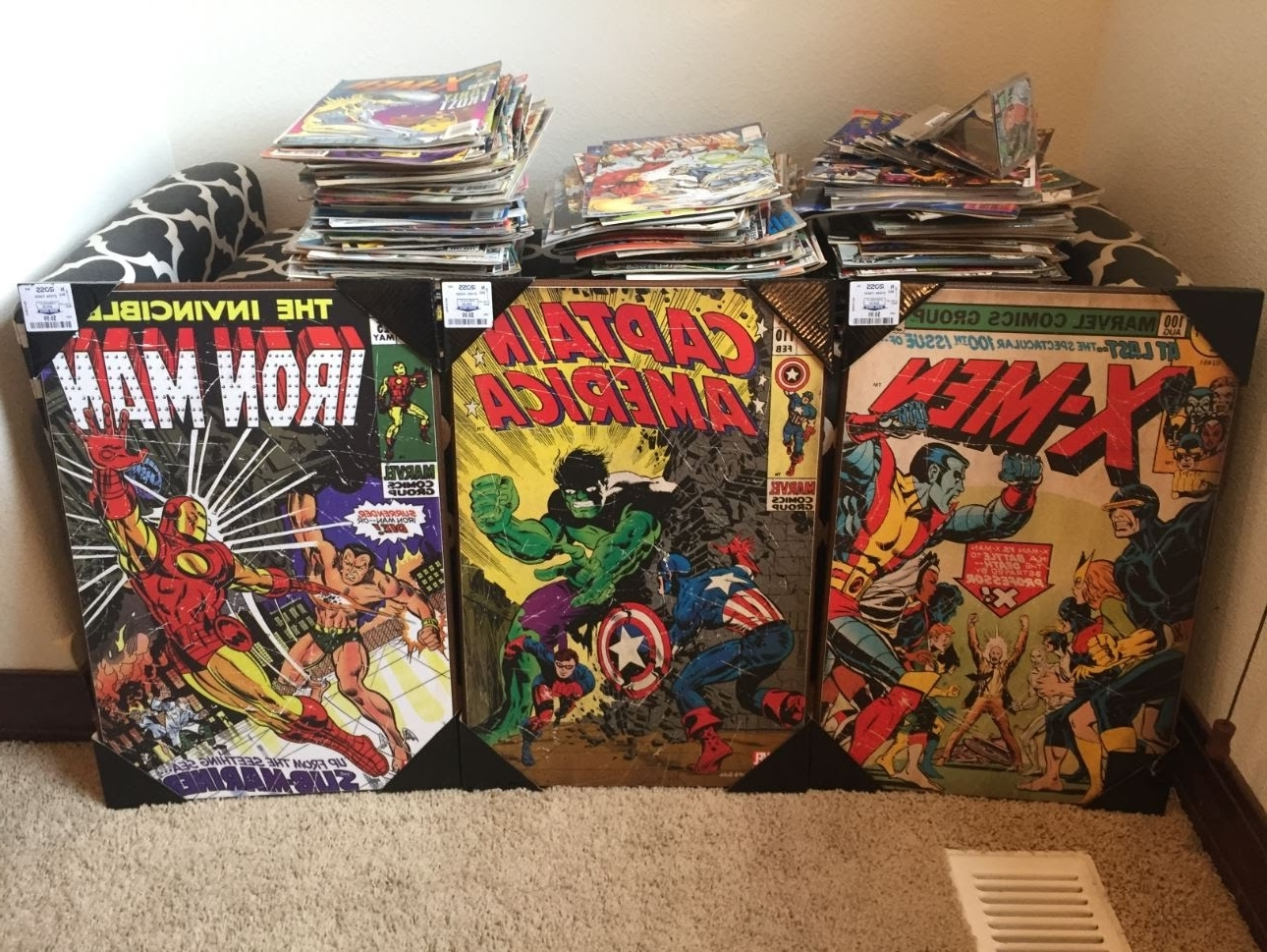 Ross Wall Art Throughout Famous Marvel Comics Wall Art – Youtube (View 3 of 15)