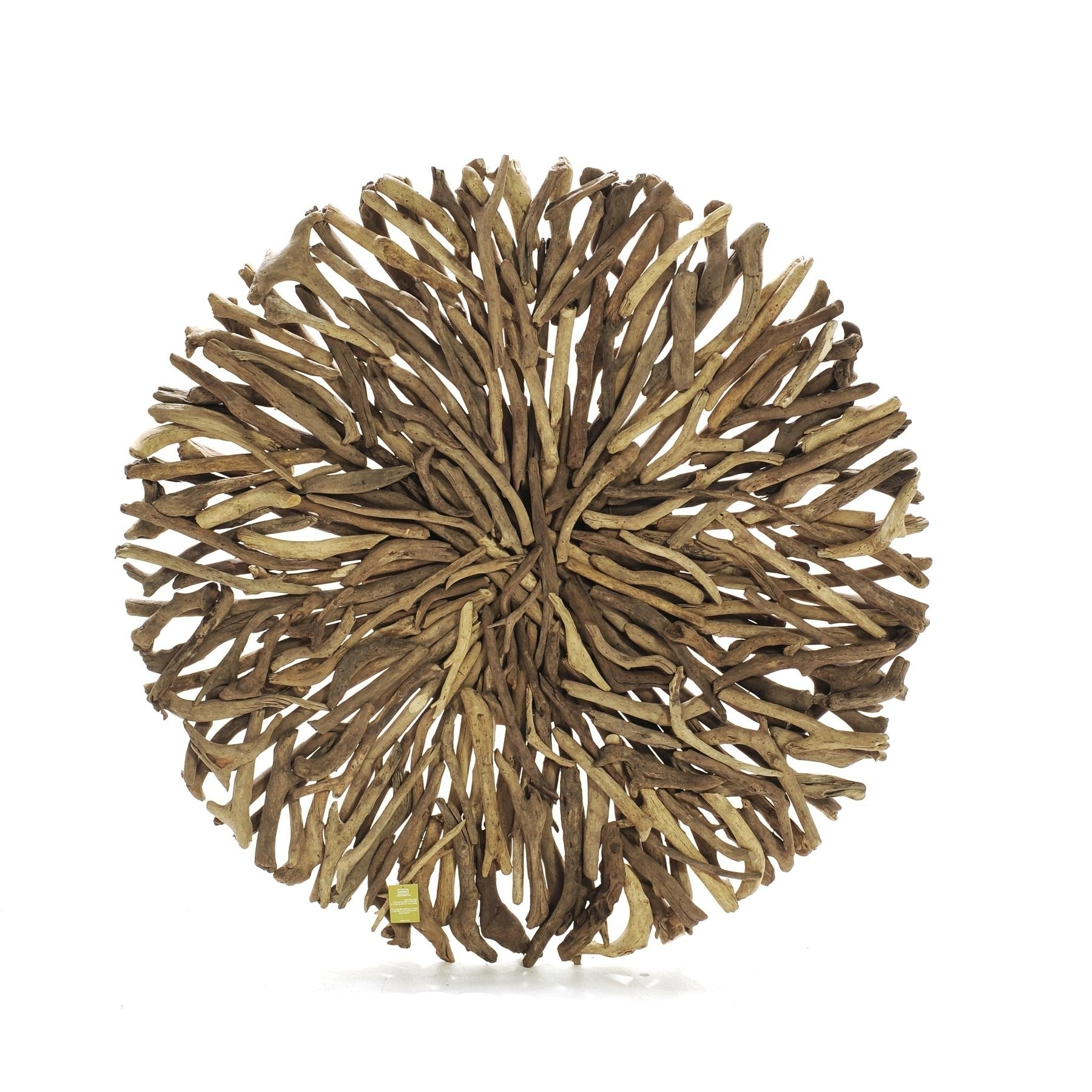 Round Wall Art With 2017 Driftwood Round Wall Art (In Store Only) – Seaweed And Sand (View 3 of 15)