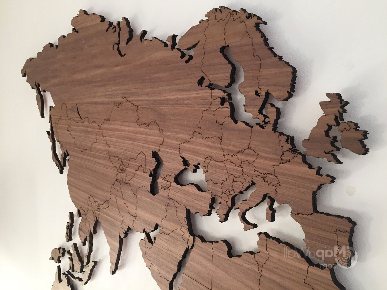 Rustic Wood World Map Decor Farmhouse For – Furlongs Throughout Well Known World Map Wood Wall Art (View 5 of 15)