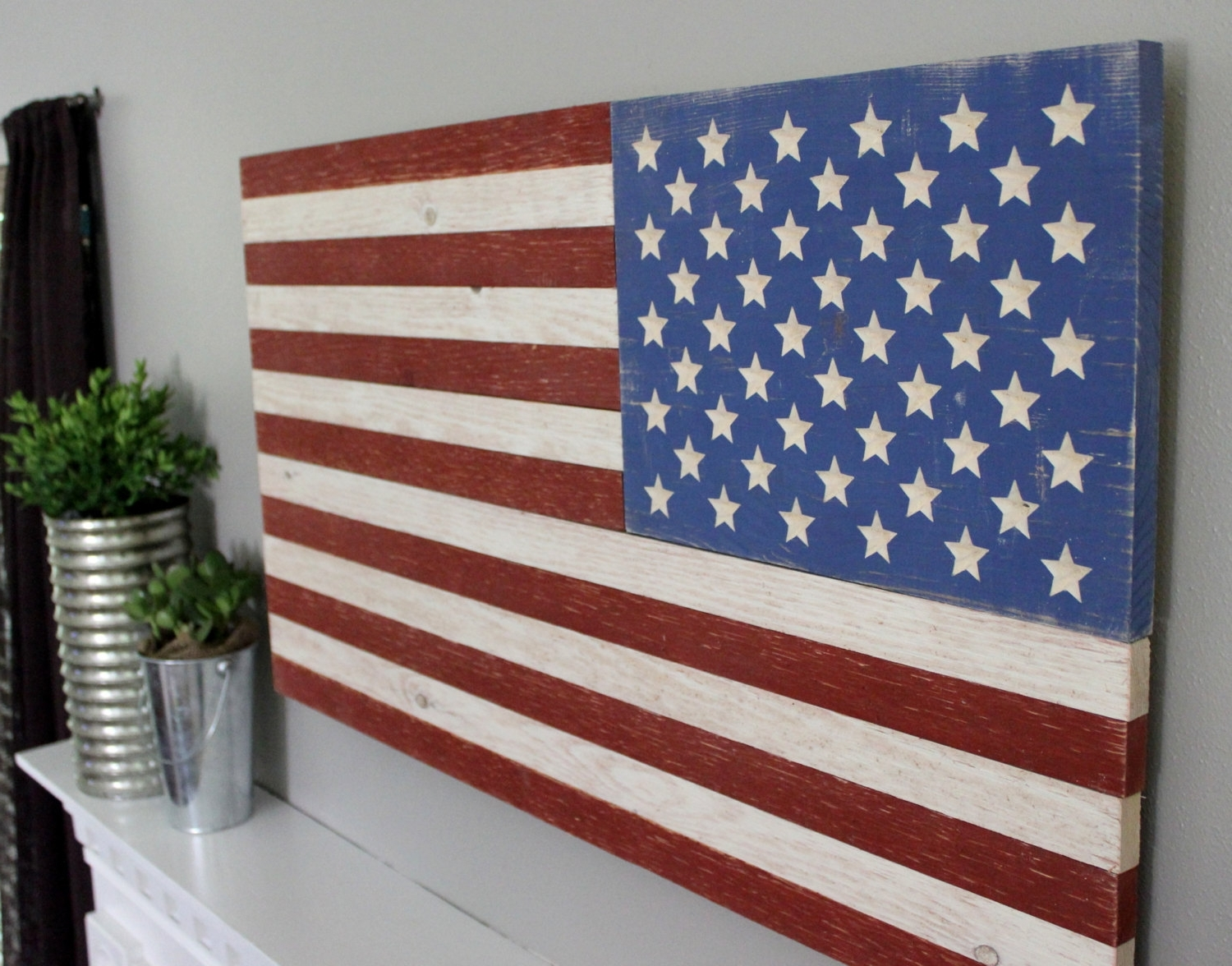 Rustic Wooden American Flag Superb American Flag Wall Art – Prix With Regard To Most Current Wooden American Flag Wall Art (View 7 of 15)