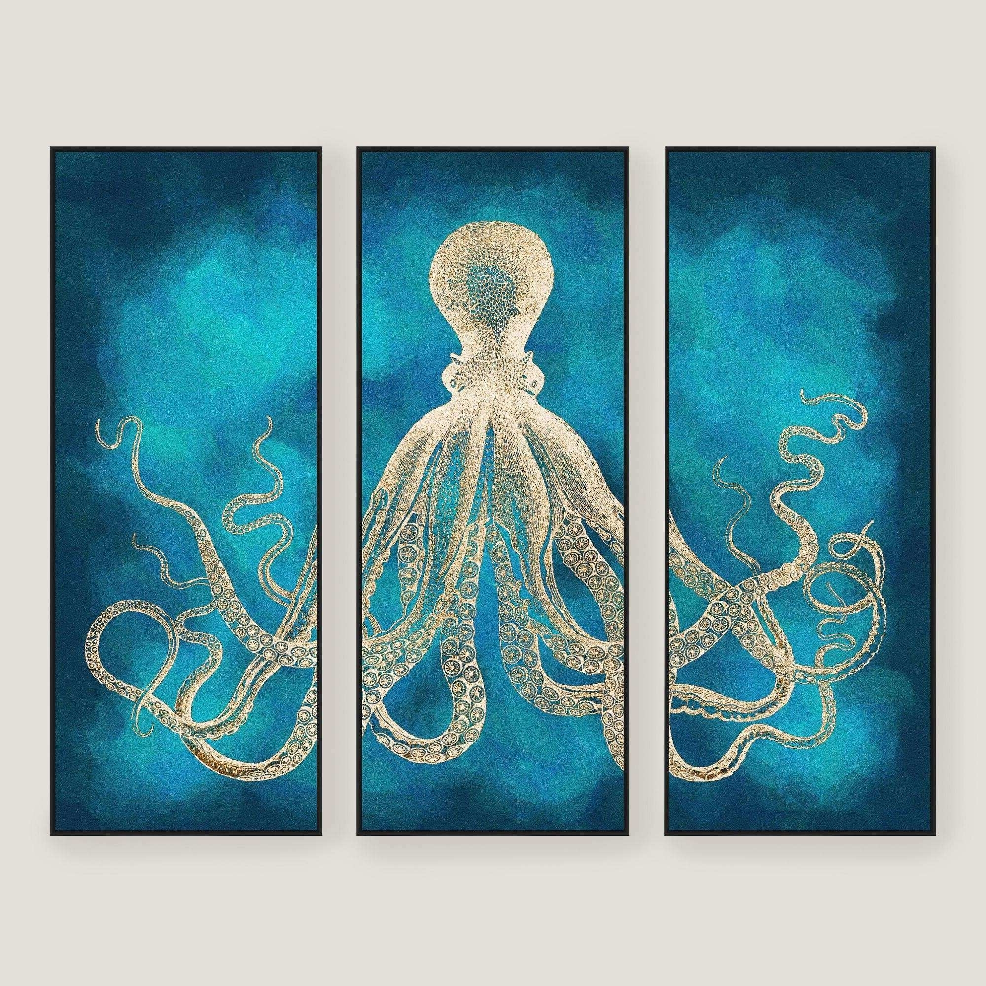 Sea Life Wall Art In Current World Market Metal Wall Art Inspirational Octopus Sea Life Wall Art (View 8 of 15)