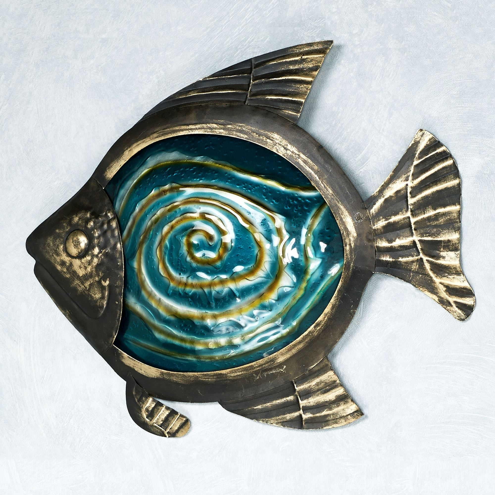 Sea Life Wall Art Within Most Popular Sealife Indoor Outdoor Glass Metal Wall Art (View 10 of 15)