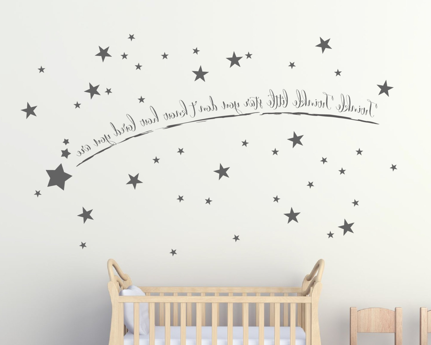 Shooting Star Wall Art – Wall Art Stickers – Wall Art – Wall Within Well Known Wall Art Stickers (View 9 of 15)