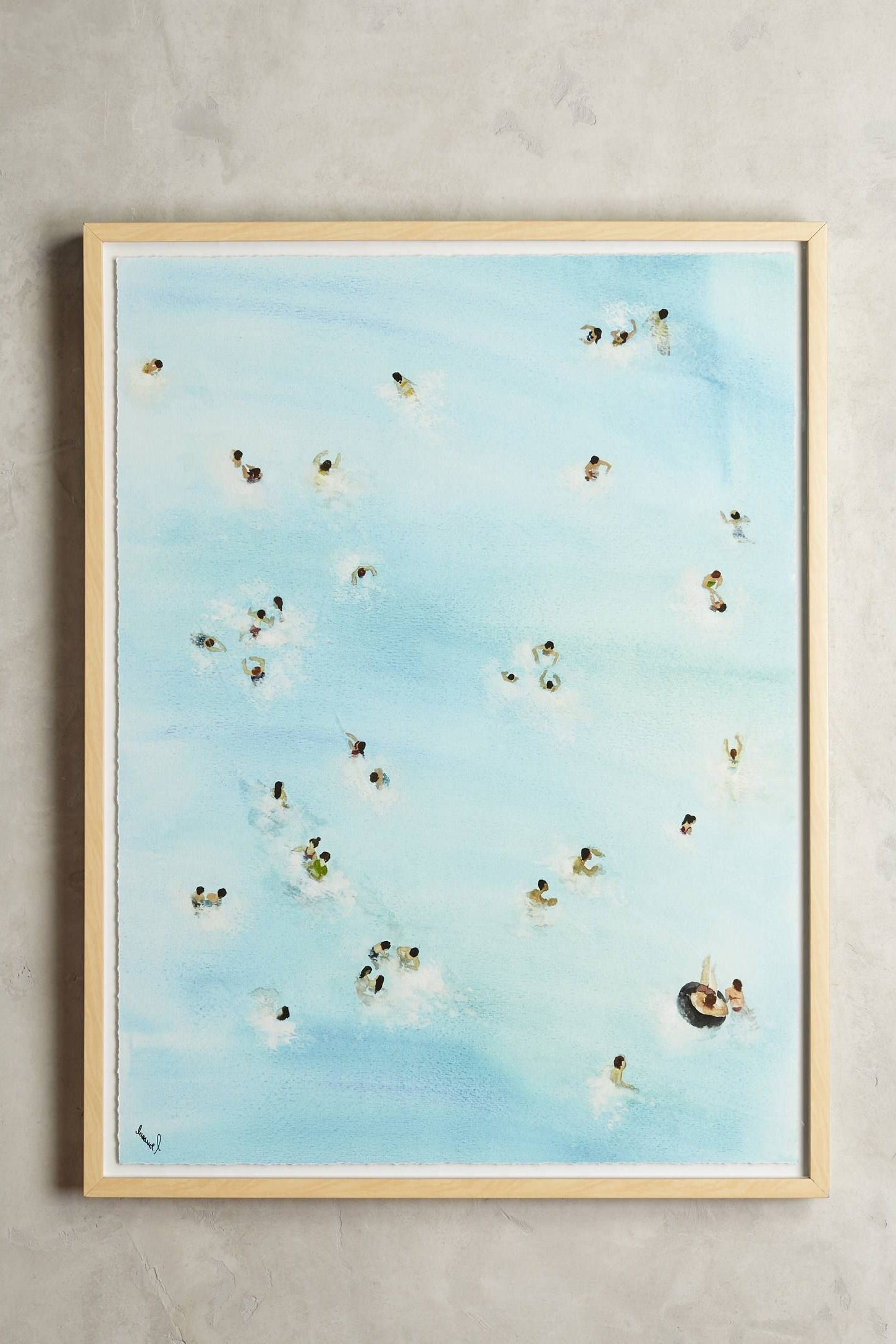 Shop The Swimming Pool Wall Art And More Anthropologie At Intended For Most Popular Anthropologie Wall Art (View 2 of 15)