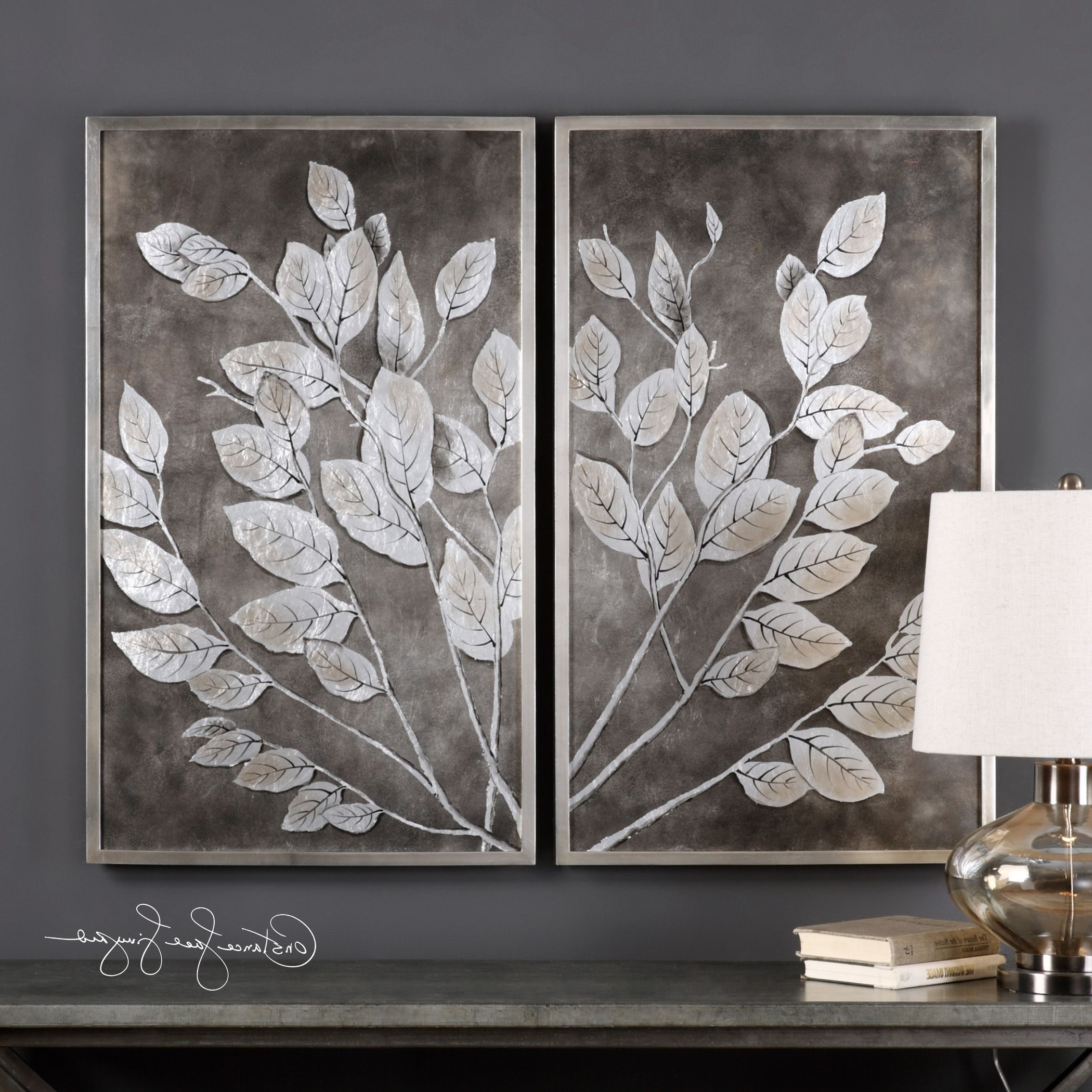 Shop Uttermost Money Tree Framed Art (Set Of 2) – Free Shipping In 2018 Uttermost Wall Art (View 12 of 15)