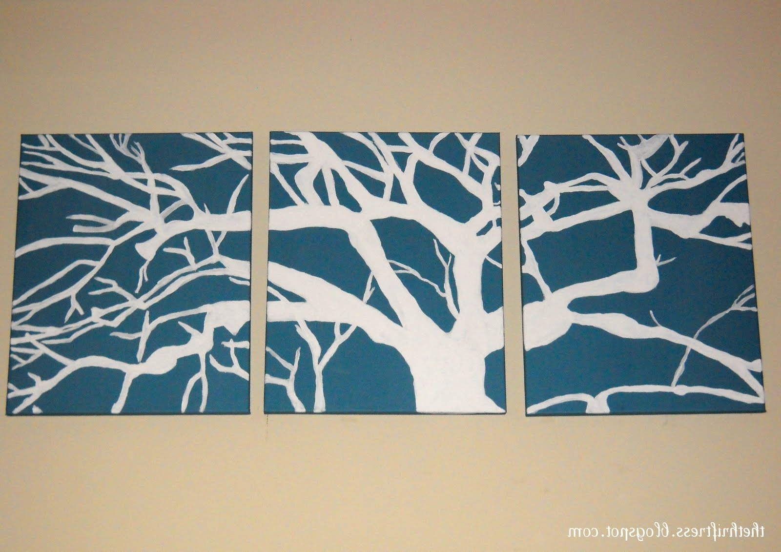 Simple Diy Canvas Wall Art All Things – Tierra Este (View 12 of 15)