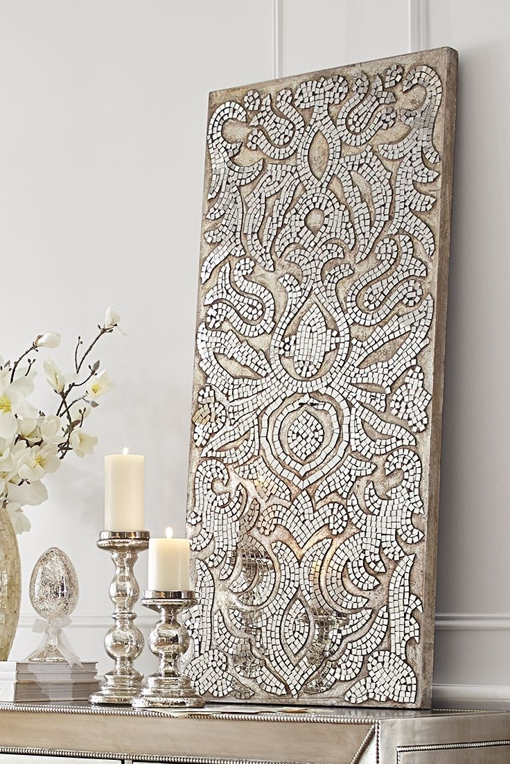 Simple Mirror Mosaic Wall Art : Andrews Living Arts – Mirror Mosaic In Most Popular Mosaic Wall Art (View 12 of 15)