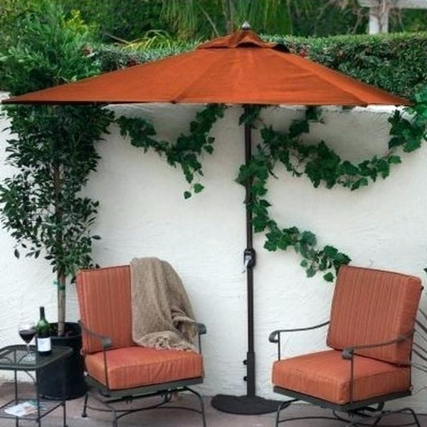 Small Patio Tables With Umbrellas Regarding 2018 Small Patio Table With Umbrella Hole – Boxcity (View 10 of 15)