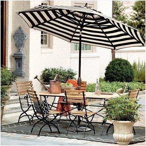 Small Patio Umbrellas Inside Favorite Small Outdoor Patio Umbrellas Best Choices » Erm Csd (View 11 of 15)