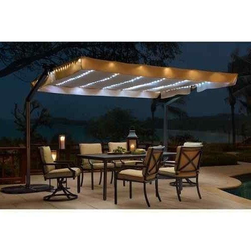 Solar Inside Current Solar Lights For Patio Umbrellas (View 7 of 15)