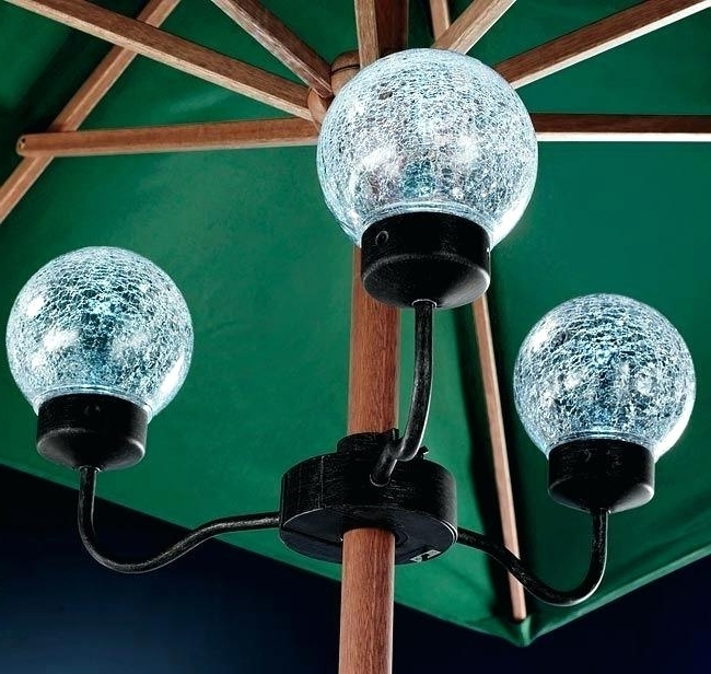 Solar Powered Patio Umbrella Lights Amazon – Hitmangear (View 15 of 15)