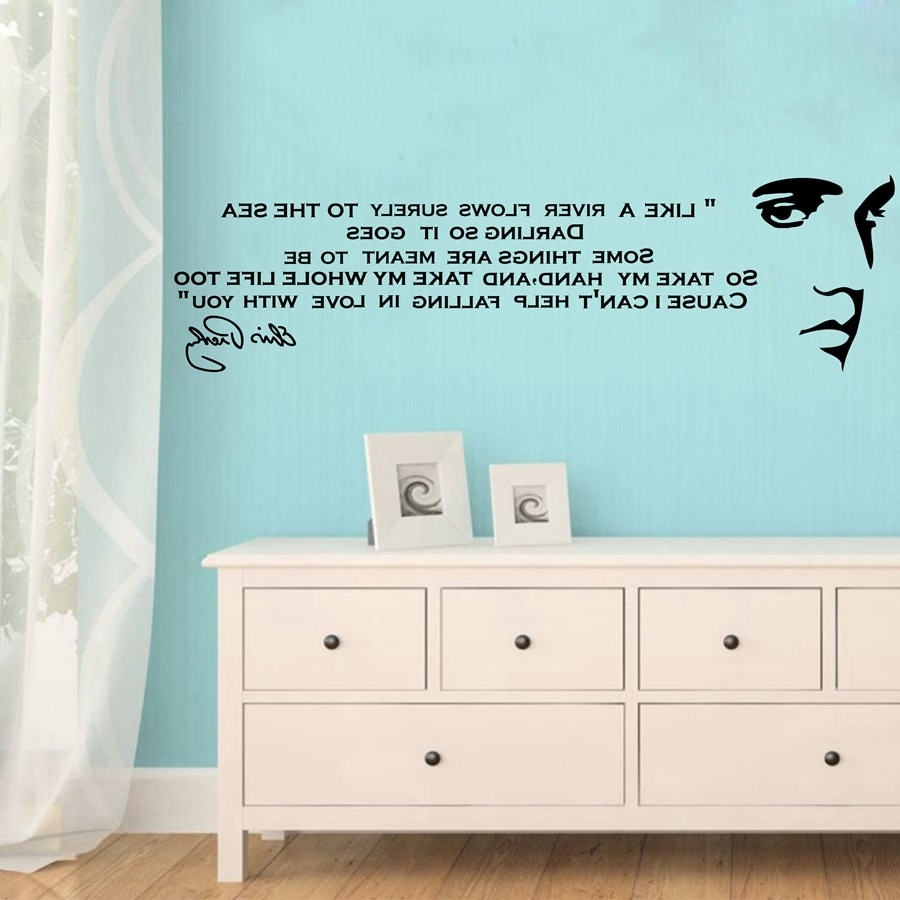 Song Lyric Wall Art With Famous Like A River Flows. (View 13 of 15)