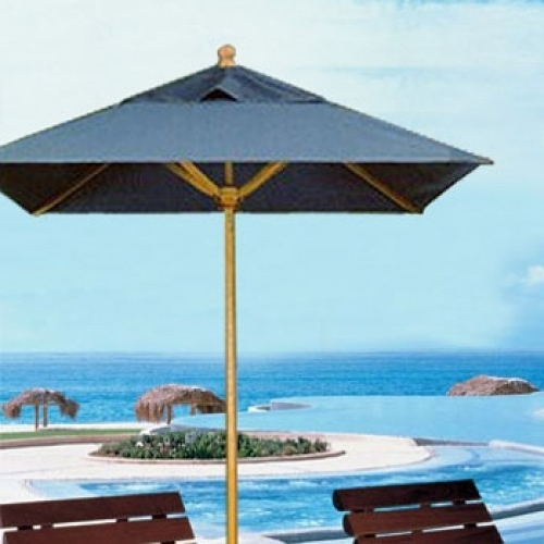 Square Patio Umbrellas With Well Known Square Signature Patio Umbrella – Commercial Umbrellas (View 3 of 15)