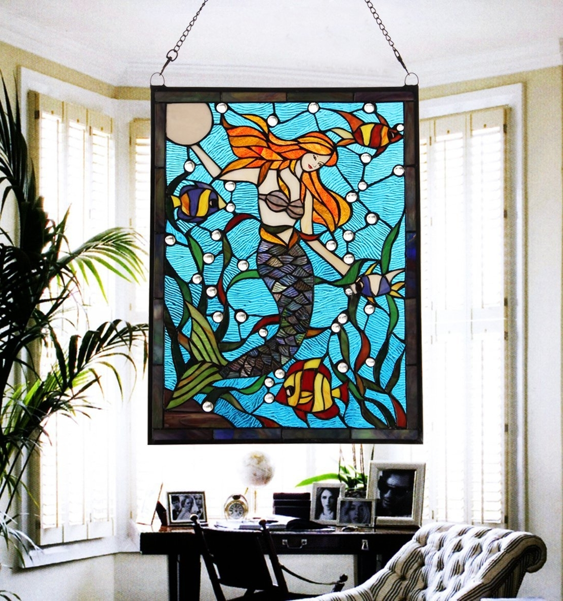 Stained Glass Wall Art Intended For Newest Stained Glass Wall Art – Culturehoop (View 7 of 15)
