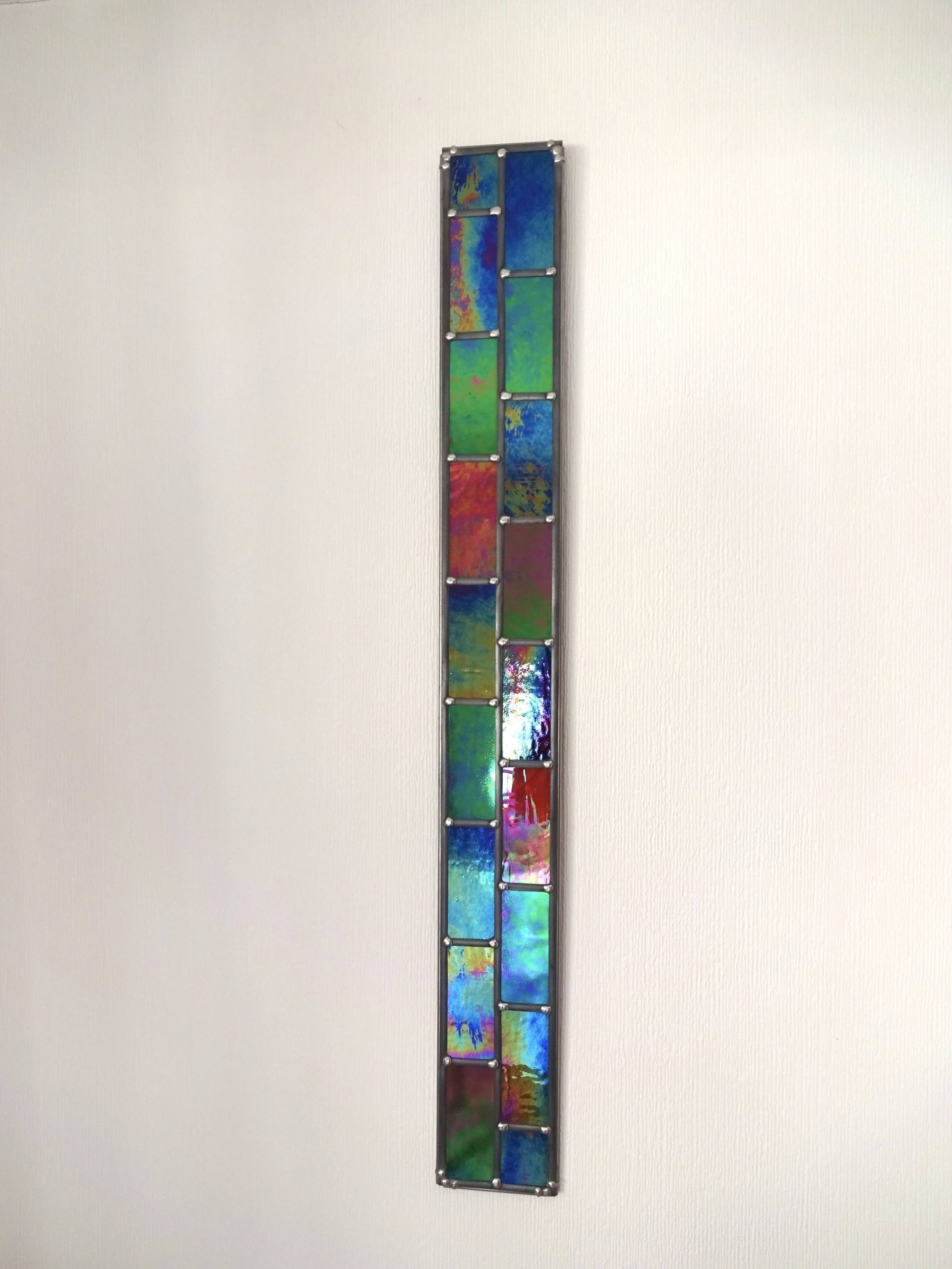 Stained Glass Wall Art With Regard To Most Up To Date Saatchi Art: Stronger Together – 2D Opaque Stained Glass Wall Art (View 12 of 15)