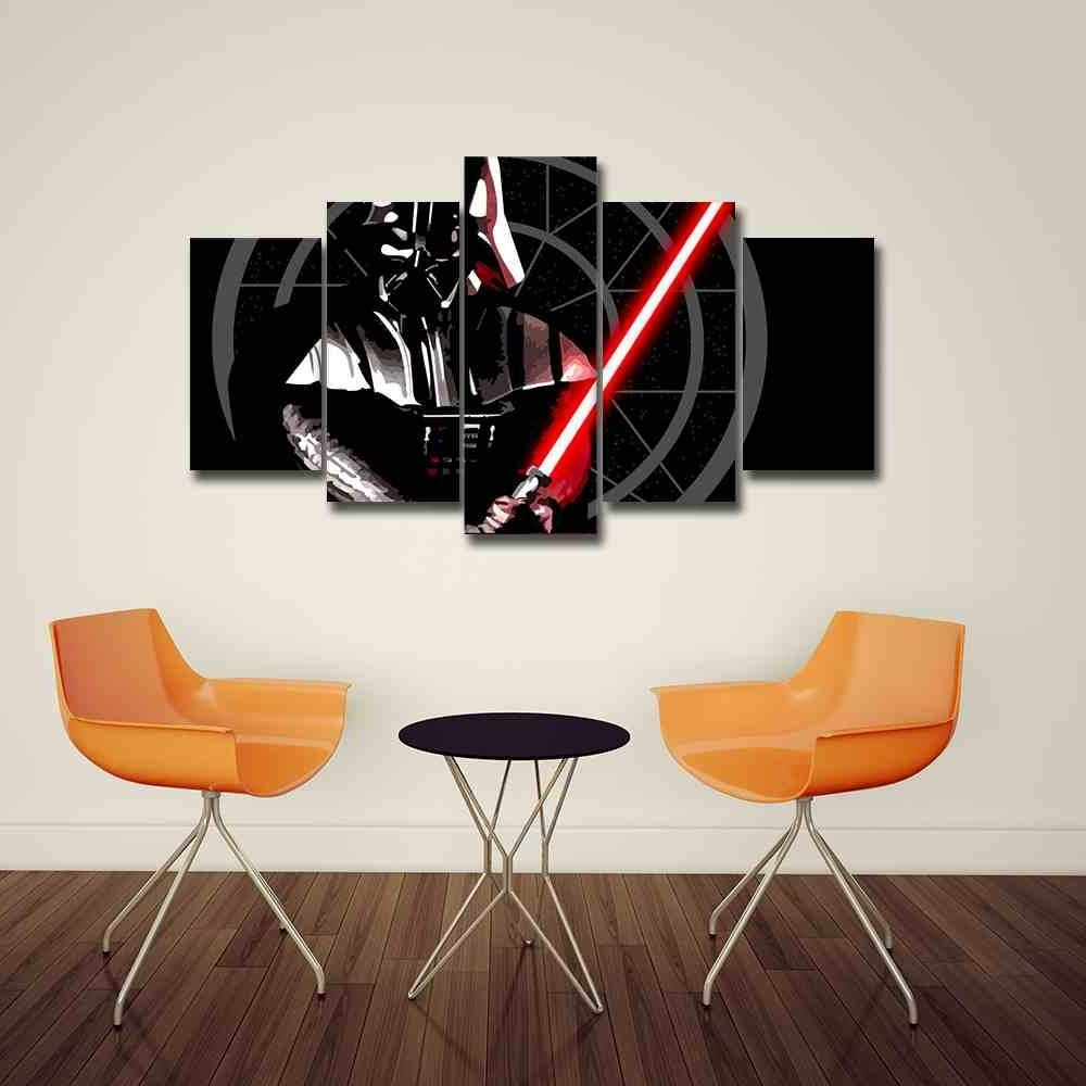 Star Wars Canvas Panel Wall Art (View 7 of 15)