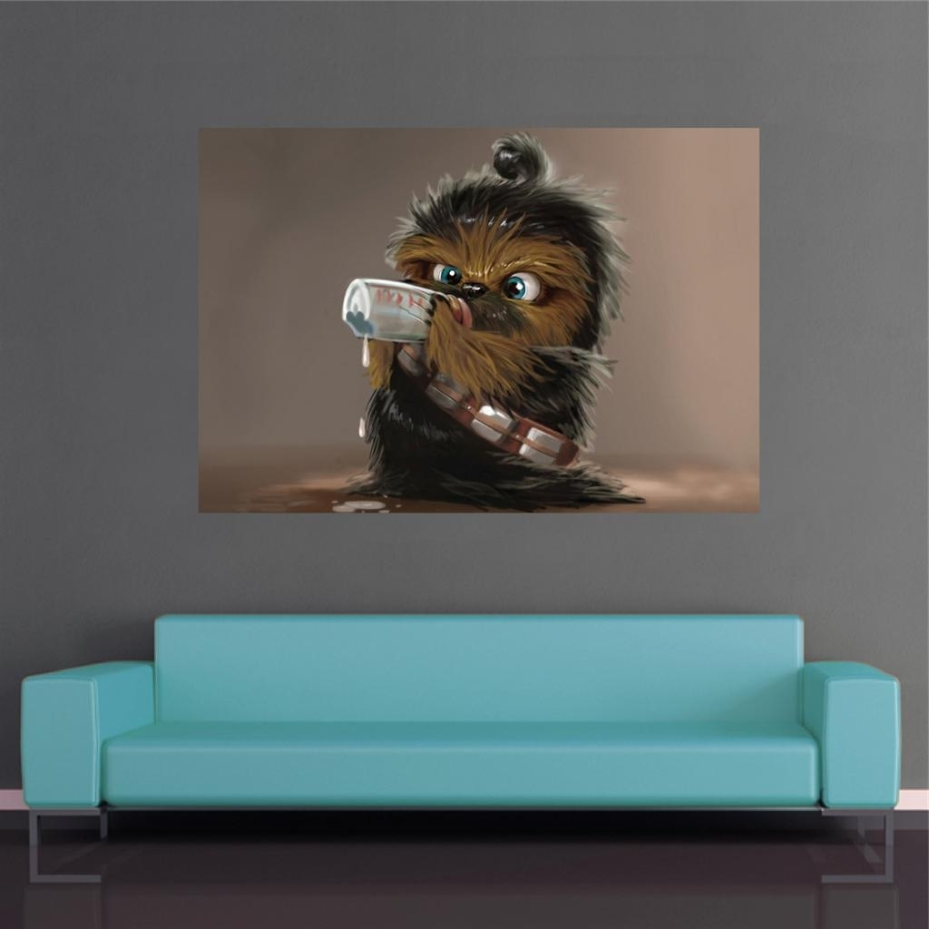 Star Wars Wall Art – Culturehoop For Famous Star Wars Wall Art (View 14 of 15)