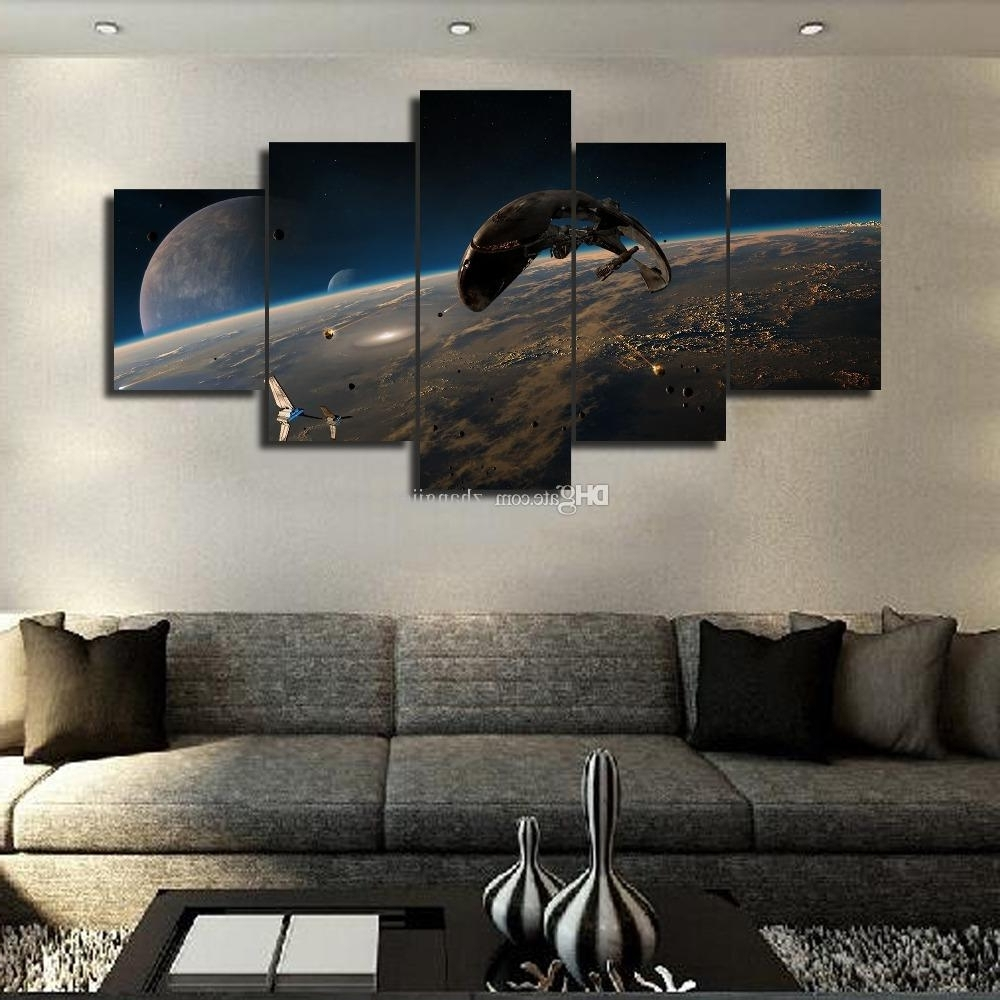 Star Wars Wall Art With Most Recent Beautiful Star Wars Wall Art – Wall Decoration Ideas (View 5 of 15)