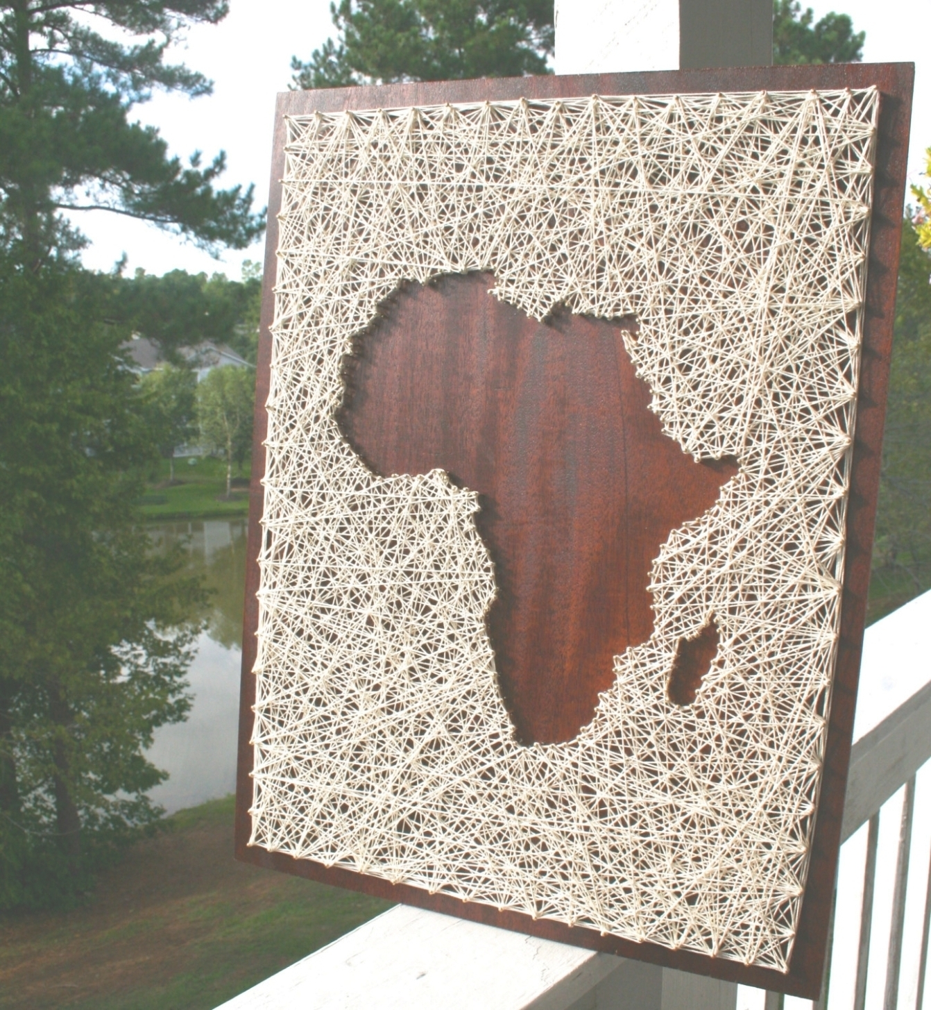 String Map Wall Art For Widely Used 35 Inspirations Of String Map Wall Art Africa Regarding Art (View 13 of 15)