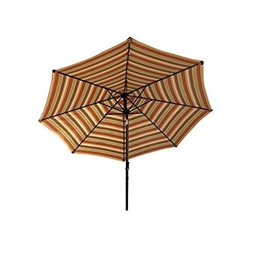 Featured Photo of Striped Patio Umbrellas