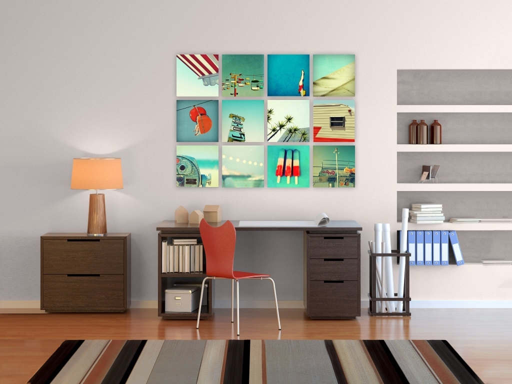 Stylish Mid Century Modern Wall Decor And Space Idea (View 12 of 15)