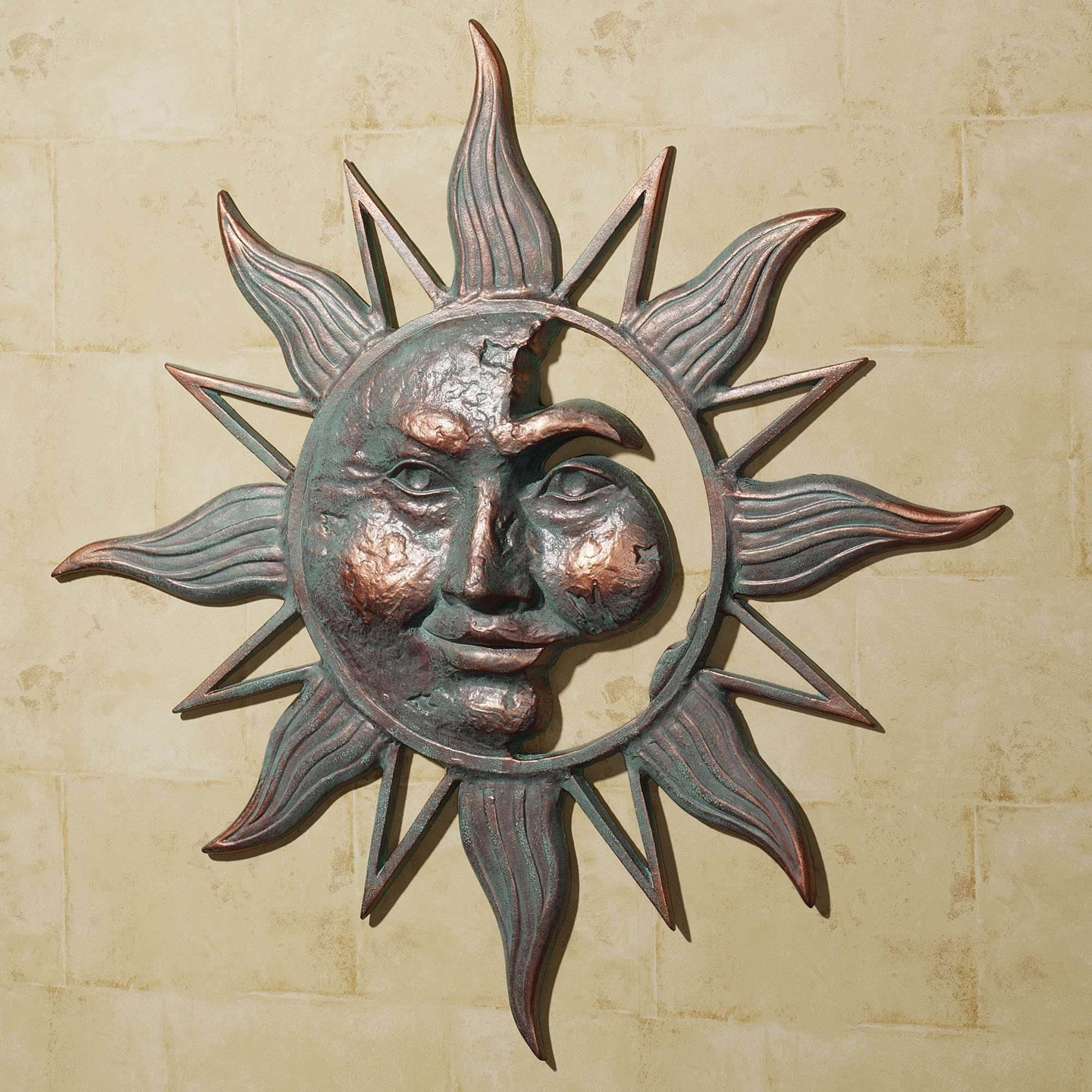 Sun And Moon Metal Wall Art Within Widely Used Sun And Moon Metal Wall Art Takuicecom – Super Tech (View 4 of 15)