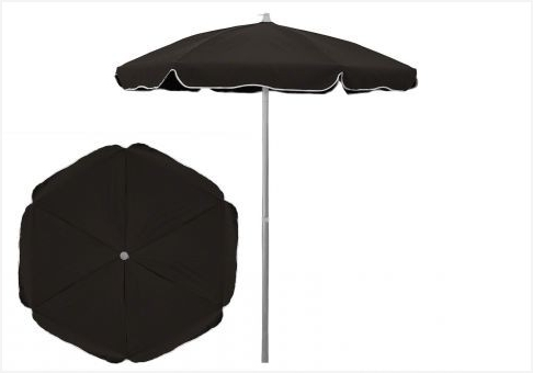 Sunbrella Black Patio Umbrellas Within Well Known 6 Patio Umbrella » Lovely 6 5 Ft Sunbrella Black Patio Umbrella With (View 11 of 15)