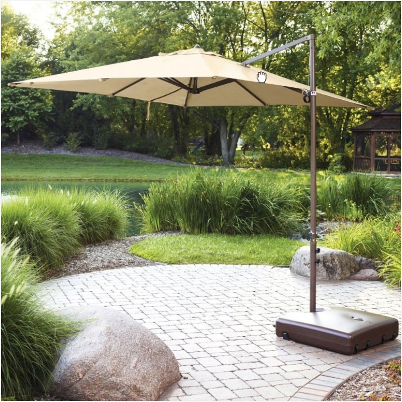 Sunbrella Patio Umbrella Replacement Canopy » Searching For Walmart Regarding Most Popular Sunbrella Patio Umbrellas At Walmart (View 13 of 15)