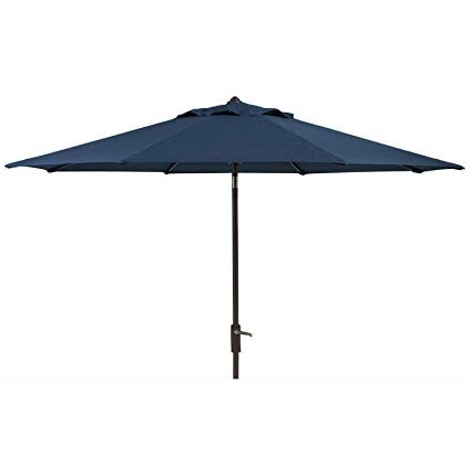 Sunbrella Patio Umbrella With Lights Intended For Recent Amazon : Members Mark Sunbrella 10 Ft (View 11 of 15)