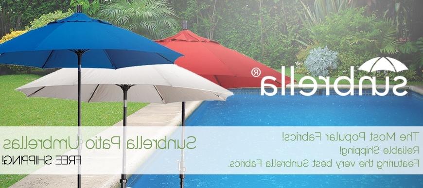 Sunbrella Patio Umbrellas – Home Design Ideas Throughout Preferred Sunbrella Patio Umbrellas (View 8 of 15)