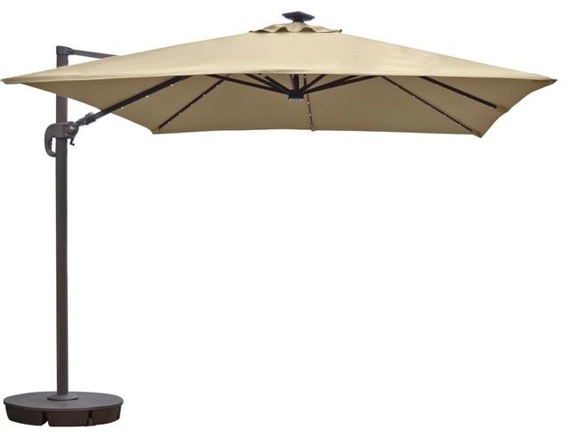 Sunbrella Patio Umbrellas In Most Recent Collection In Sunbrella Patio Umbrellas With Shop Houzz Blue Wave (View 3 of 15)