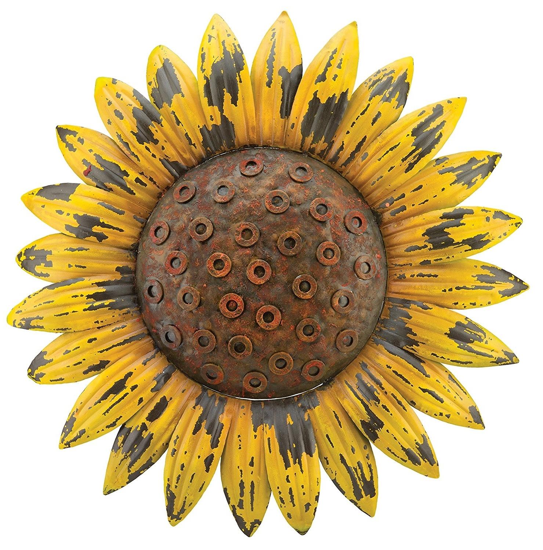 Sunflower Wall Art Throughout Well Liked Blben Luxury Sunflower Wall Decor – Wall Decoration Ideas (View 12 of 15)