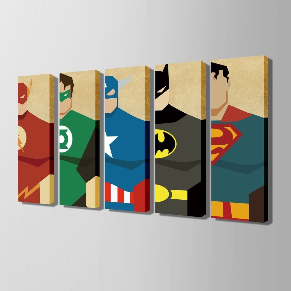 Featured Photo of Superhero Wall Art