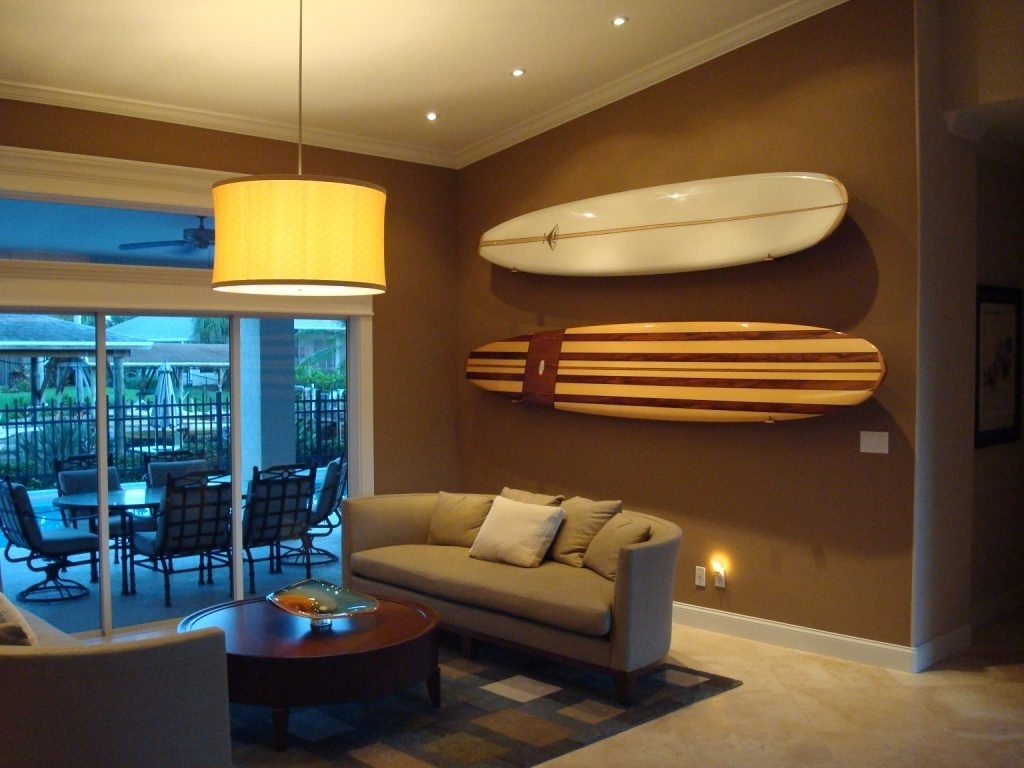 Surfboard Wall Art With Regard To Best And Newest Surfboard Wall Art – Culturehoop (View 14 of 15)