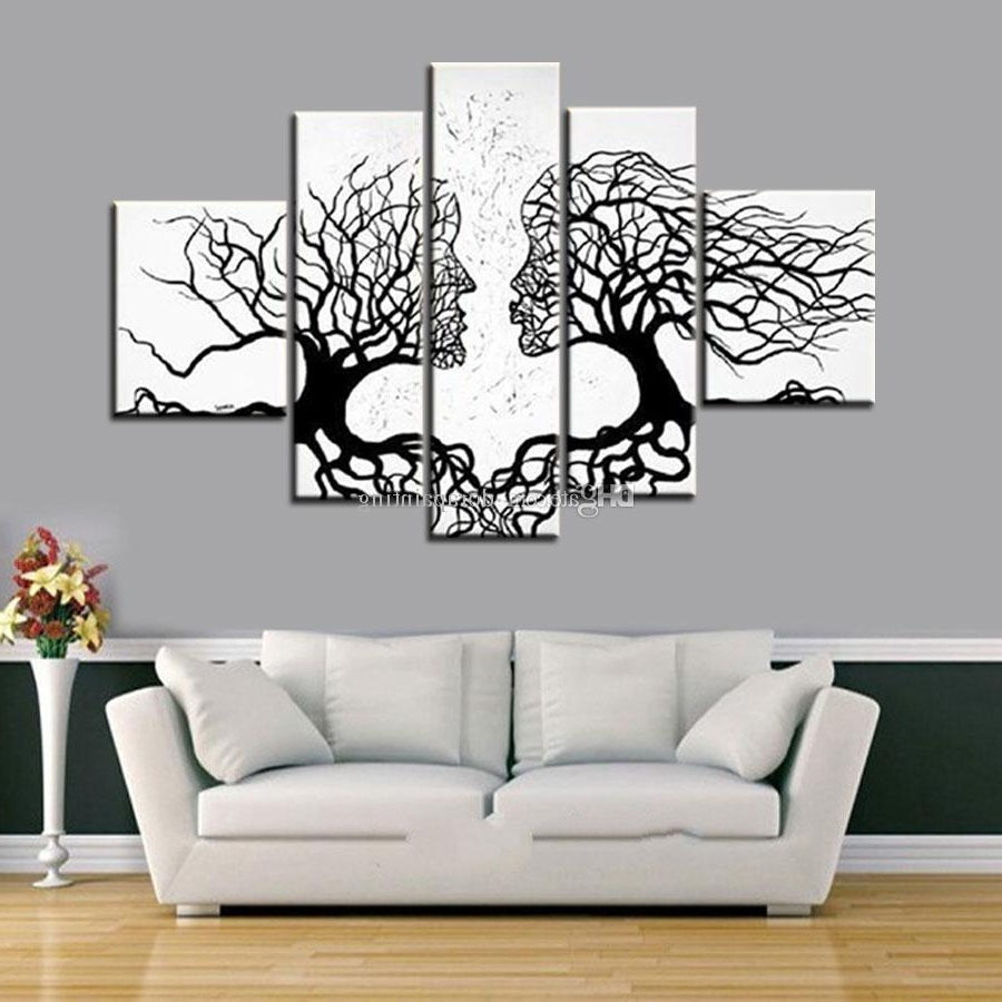 Surprising Black And White Canvas Art 26 Modern Nordic Fashion Model Within Famous Black And White Large Canvas Wall Art (View 11 of 15)