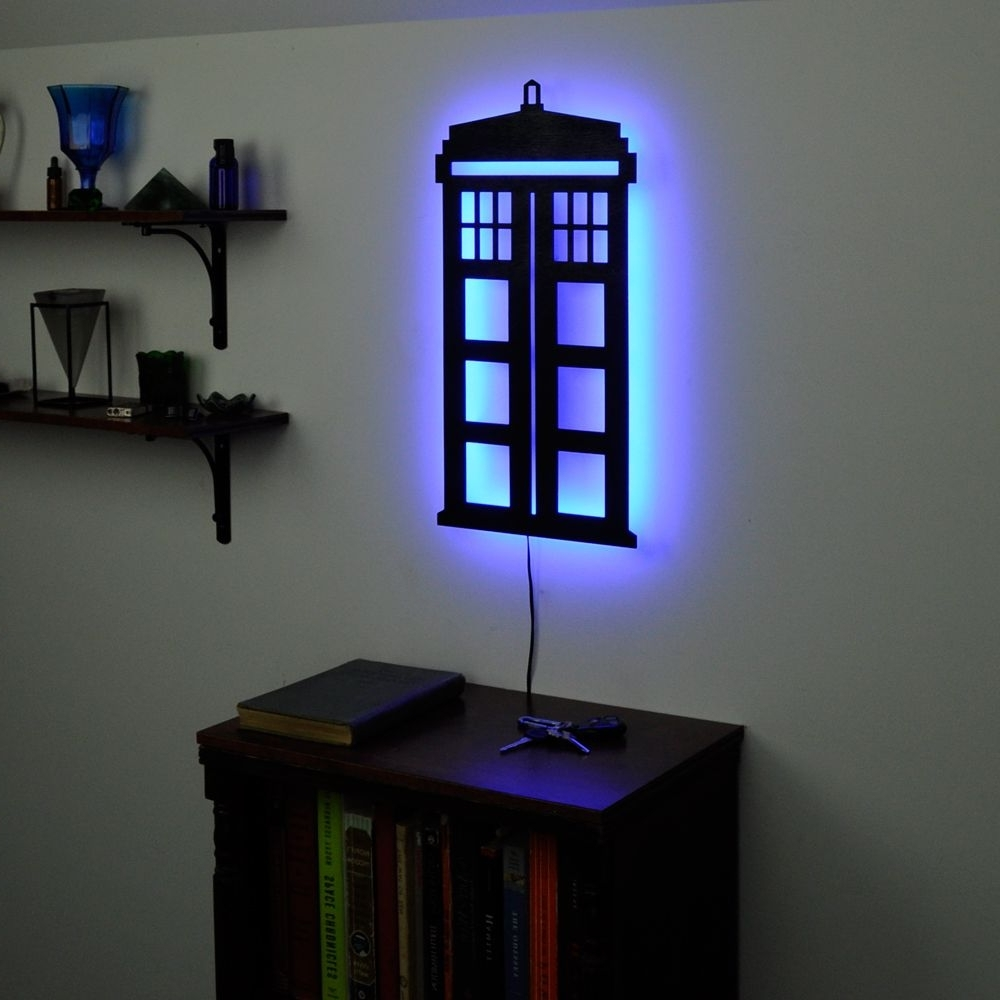 Tardis Regarding 2018 Doctor Who Wall Art (View 12 of 15)