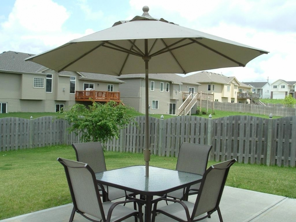 Target Patio Umbrellas With Regard To Best And Newest Home Design (View 4 of 15)