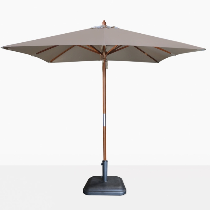 Teak Warehouse With Sunbrella Teak Umbrellas (View 10 of 15)