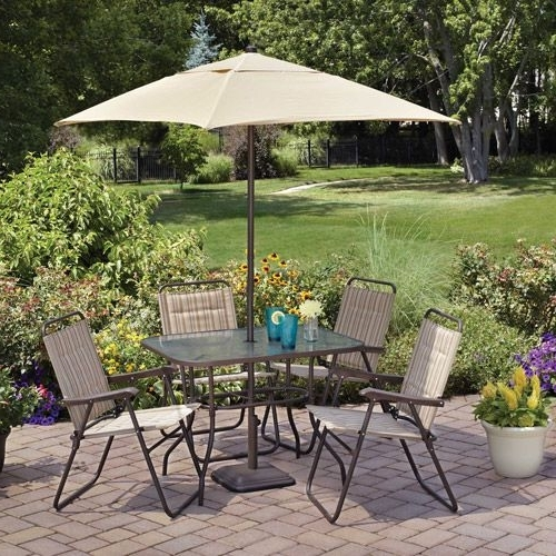 Teakpatiofurnishings For Widely Used Patio Dining Sets With Umbrellas (View 12 of 15)