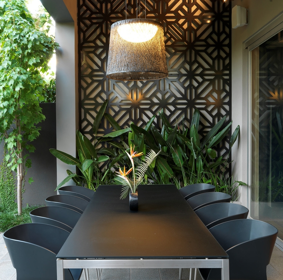 The Benefits Of Decorating Outdoor Walls With Art Inside Trendy Outdoor Wall Art (View 13 of 15)