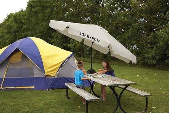 The Most Durable Wind Resistant Patio Umbrella – Morshade Inside Current Wind Resistant Patio Umbrellas (View 6 of 15)